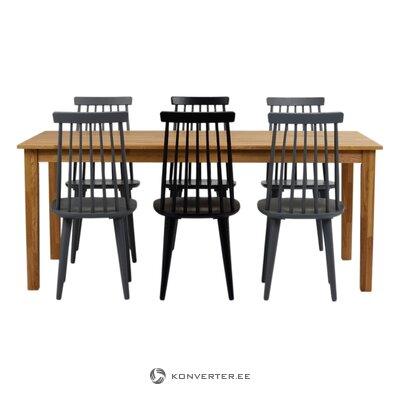 Black chair lotta (rowico)