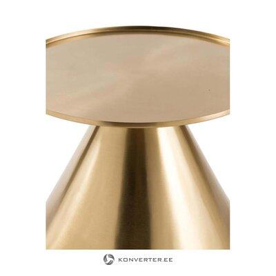 Золотой журнальный столик кос (tradestone)