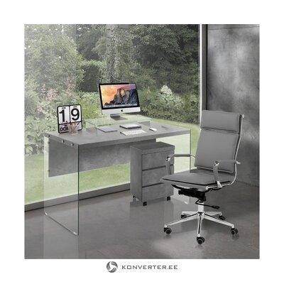 Pilka biuro kėdė premjeras (tomasucci) (su nedideliu trūkumu salės pavyzdys)