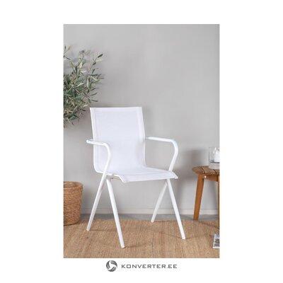 White garden chair alina (venture design)
