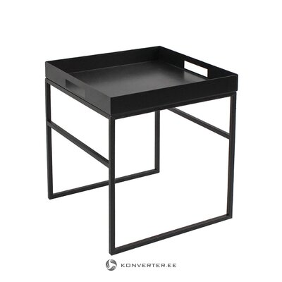 Журнальный столик черный дизайн nora (werner voss)