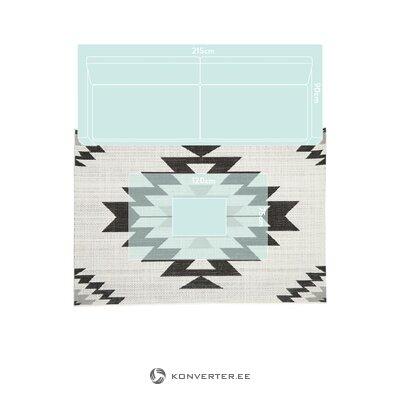 Kuvioitu matto ikat (kalaidu)