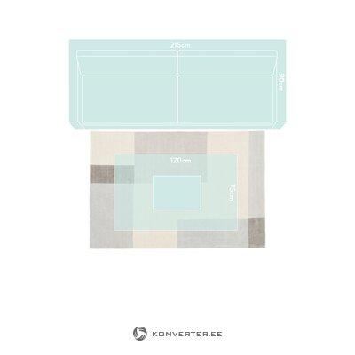 Легкий узорчатый ковер (кейт)