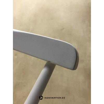 Guminė balta kėdė (jella & jorg) (su nedideliu defektu))