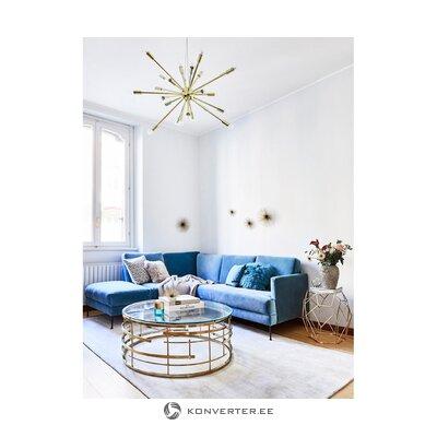 Большой золотой подвесной светильник (шип)