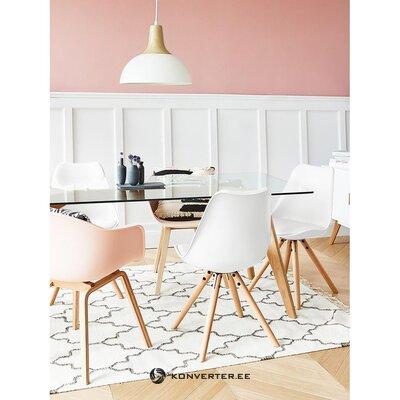 Baltbrūns krēsls (Jella & Jorg) (zāles paraugs ar skaistuma defektu)