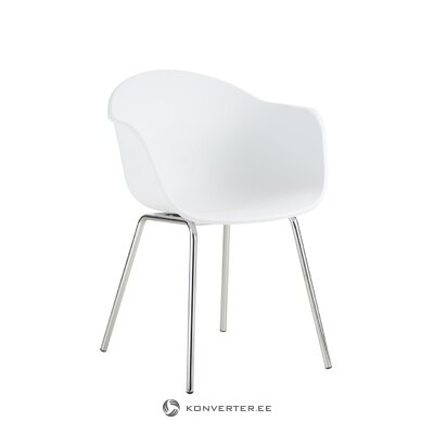 White-silver chair (claire) (hall sample)