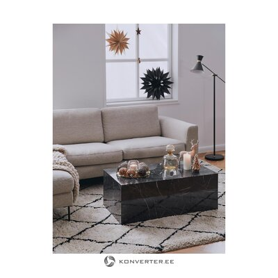 Marble imitation coffee table (lesley) (defective hall sample)