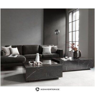 Marmorijäljitelmä sohvapöytä (lesley) (viallinen hallinäyte)