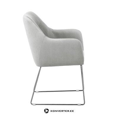 Кресло светло-серое (образец зала дефекты изделия)