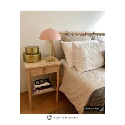 Pink-gold table lamp (matilda)