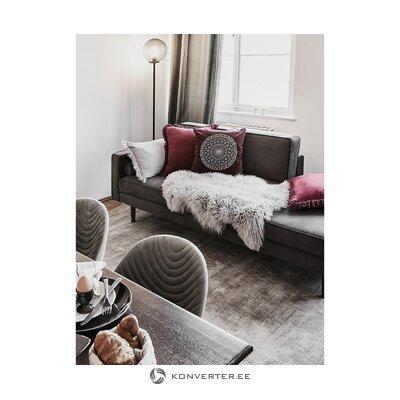 Gray-brown viscose carpet (jane)