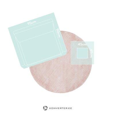 Rožinis viskozinis kilimas (jane)