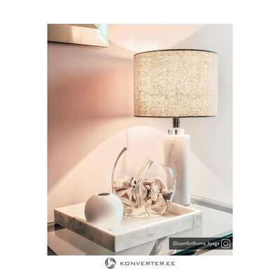 Marble table lamp amanda (miraluz)