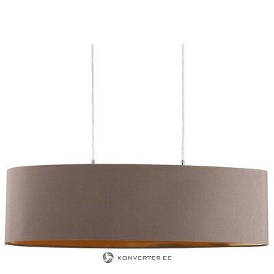 Овальный подвесной светильник (миралуз) (целиком, в коробке)
