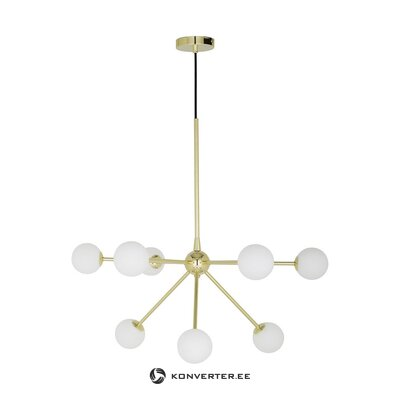 White-gold pendant light (space)