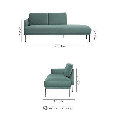 Šviesiai žalia sofa (sklandžiai)