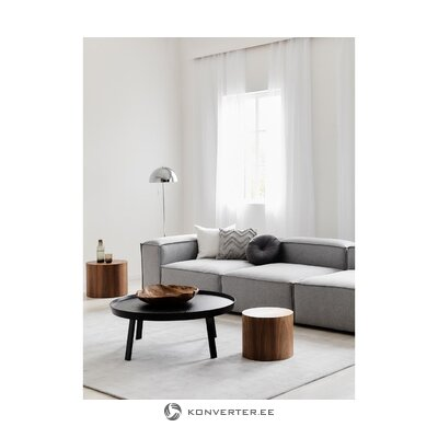 Gray module corner sofa (flight)