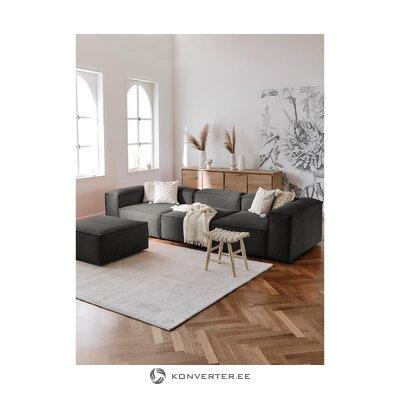Dark gray corner sofa (in flight)