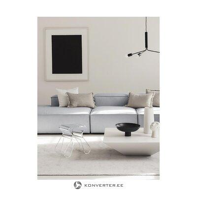 Light gray xl modular sofa (in flight)