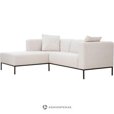 Smėlio spalvos kampinė sofa (Carrie)