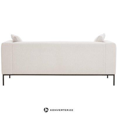 Beige-black sofa (carrie) (whole)