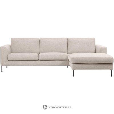 Beige corner sofa (cucita) (whole)
