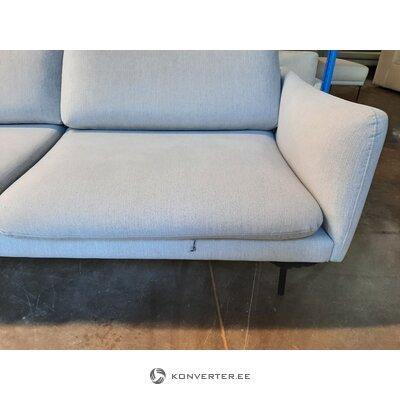 Gray corner sofa moby