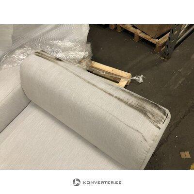 Light gray corner sofa melva