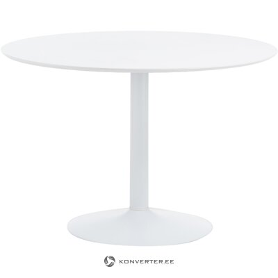 White round dining table (interstil Danish)