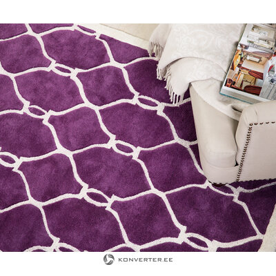Purple-white carpet (the rugworks) (whole, in a box)