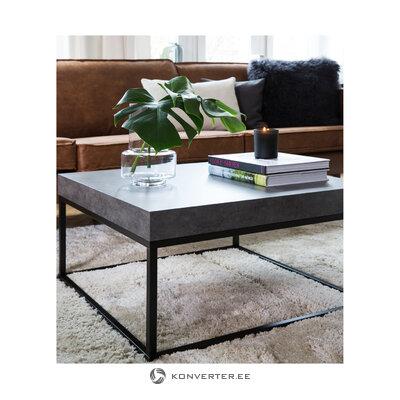 Harmaanmusta sohvapöytä (ellis)