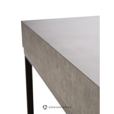 Juodai pilkas kavos staliukas ellis (temahome)