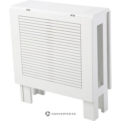 White extendable garden table butterfly (cinas)