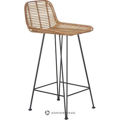 Барный стул шторка из ротанга (hkliving) (целиком, в коробке)