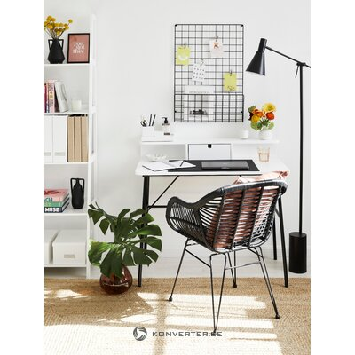 Black and white design table pascal (actona)