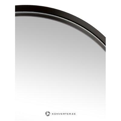 Настенное зеркало в черной раме (коллекция hd)