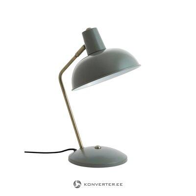 Vihreä tina pöytävalaisimen kansi (leitmotiv)