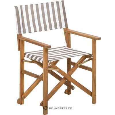Складной садовый стул (zoe)