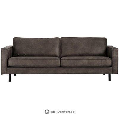 Коричнево-серый диван hunter (3-х местный)