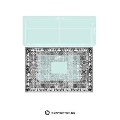 Mottled vinyl rug (myspot)