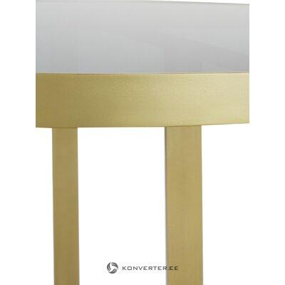 Pyöreä lasinen ruokapöytä (Marika)