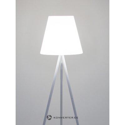 Valkoinen lattiavalaisin (valonheitin)