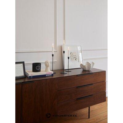 Ретав шкаф со шпоном ореха travis (zuiver)