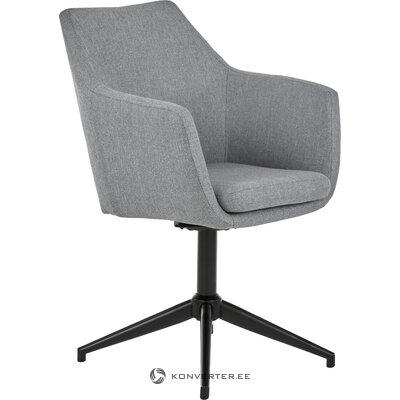 Pilka-juoda sukama kėdė nora (actona) (visa, salės pavyzdys)