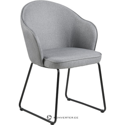 Light gray armchair (actona)