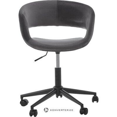 Pilkai juoda biuro kėdė (Actona)