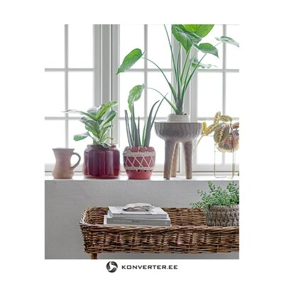 Golden small flower stand (bloomingville) (in a box)