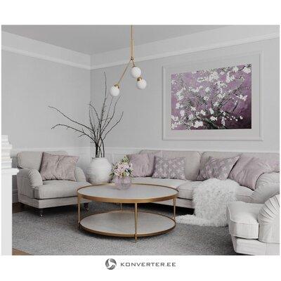 Zelta griestu lampa Twiggy (Rydens)