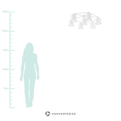 Белый потолочный светильник (eglo)